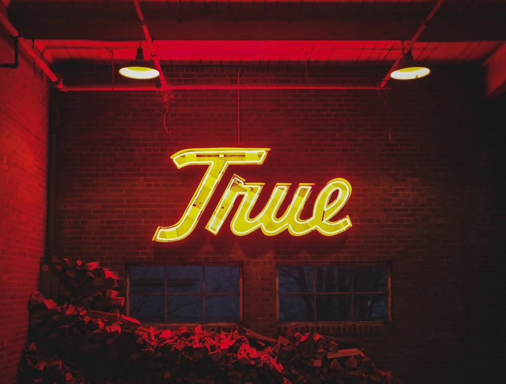 True светодиодные буквы