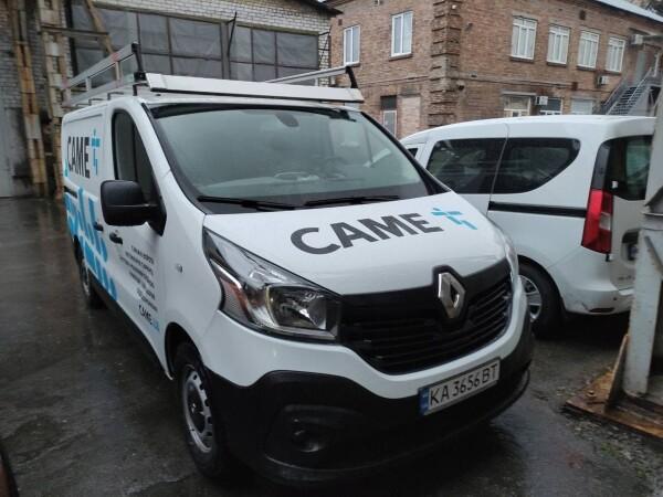 Оклейка авто CAME.UA